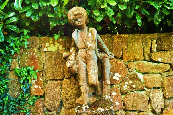 Little Boy Statue