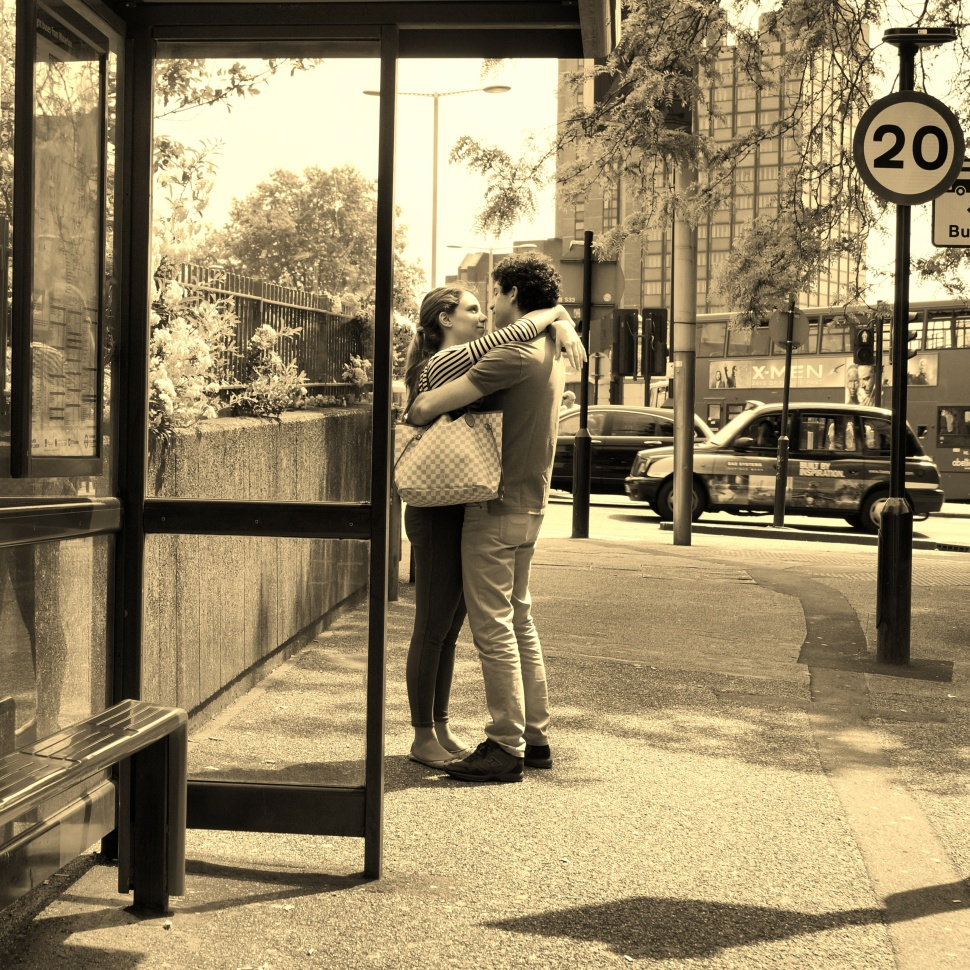 True Love at a Bus Stop