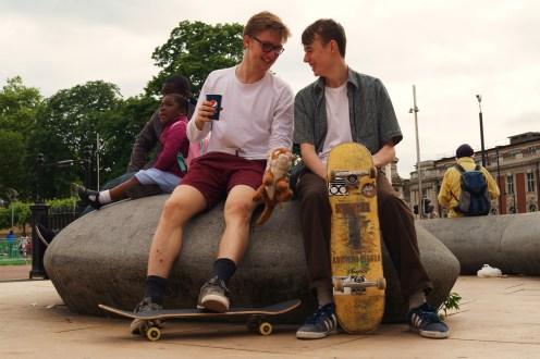Skate On, London