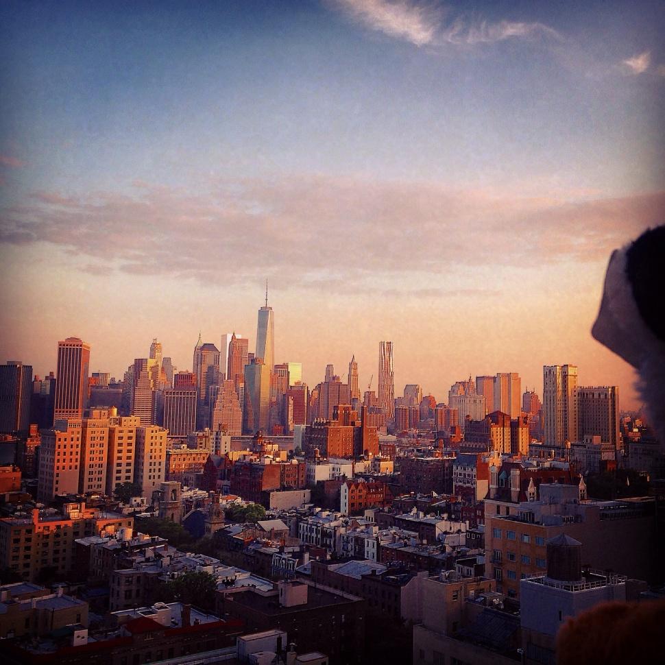 How Brooklyn Sees Manhatten - Brooklyn July  2014
