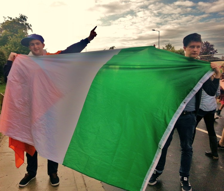 Macklemore Irish Flag Boys
