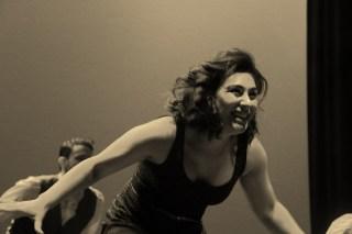 Dancer Smiling B&W