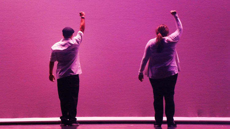 Dancers Power Fist