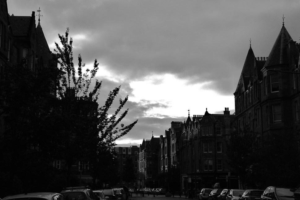 Edinburgh St B&W