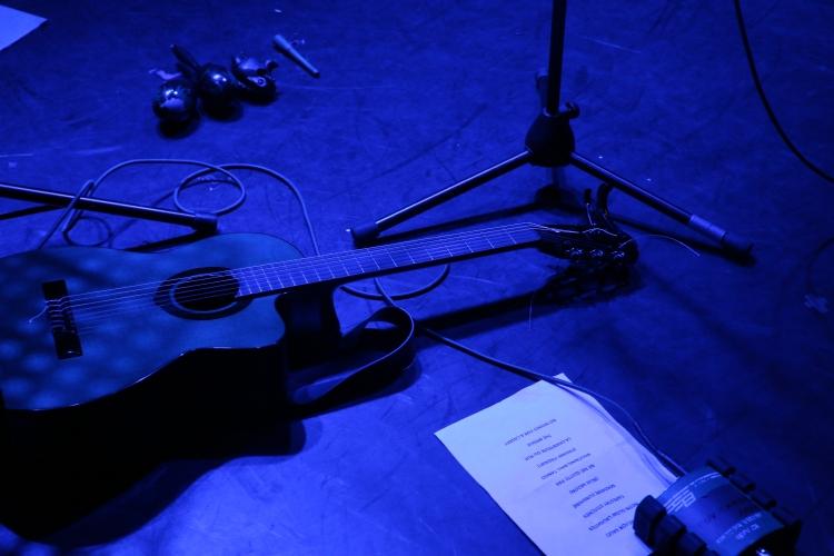 Guitar At Helene