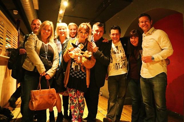 Happy Cast of Tango