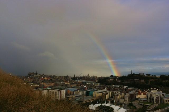 Rainbow getting bigger