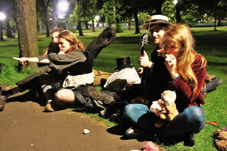 Random People in Park