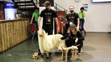 TPJ Sheep and Dog Puppet