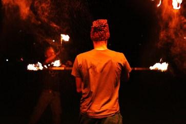 Unreal fire photo