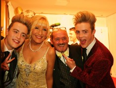 Jedward and Brendan