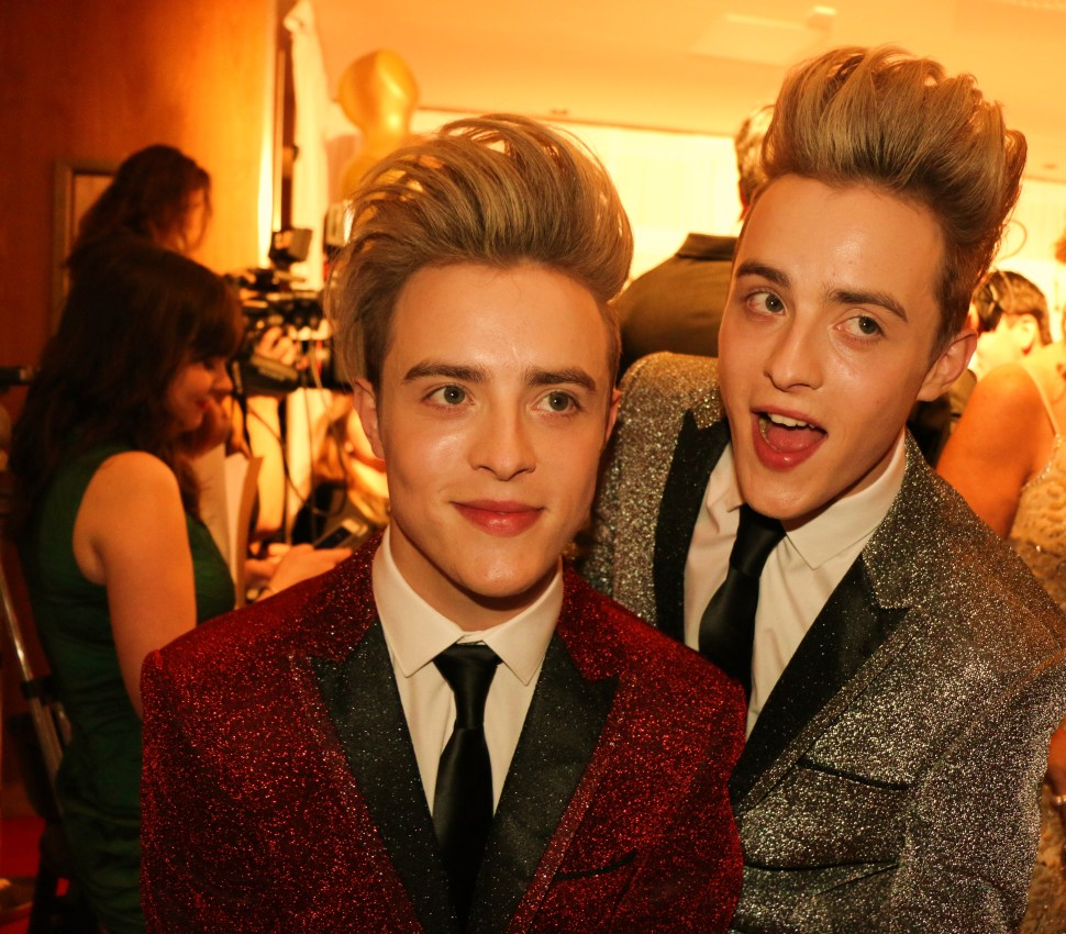 Jedward red carpet