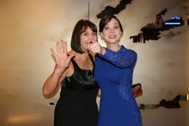 Sarah Greene and Mum Great Photo
